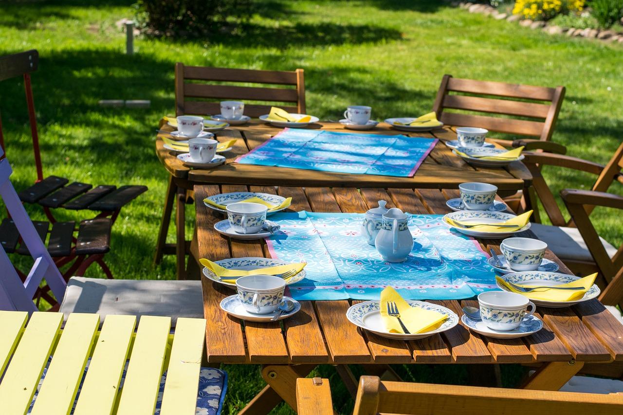 Wetterfeste und langlebige Terrassentische - worauf sollte man achten?