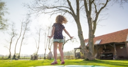 Sicherheit bei Gartentrampolinen