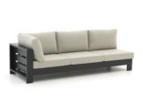Bellagio Avolo Loungesofa 3-Sitzer rechter Arm 253 cm