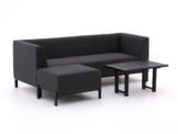 Hartman Dion Chaiselongue Lounge-Set 3-teilig