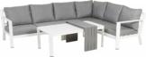 Primaster Dining Lounge Möbelset Elbasan inkl. Auflagen und Zierkissen