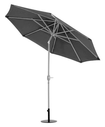 Primaster Sonnenschirm Kreta anthrazit, Ø 300 cm