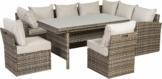 TrendLine Dining Lounge Möbelset Avila inkl. Sitz- und Rückenkissen