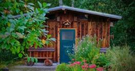 Das Gartenhaus macht den Garten zum einladenden Outdoor-Paradies